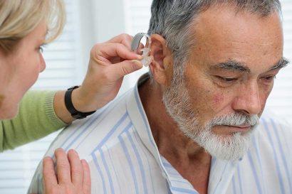 Beidseitige Hörgeräte